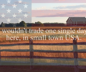 country, small, and southern image