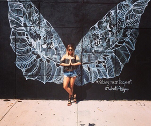 vanessa hudgens, angel, and wings image