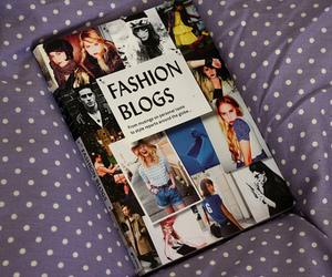 book, fashion, and fashion blogs image