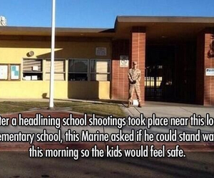 army, kids, and Marines image