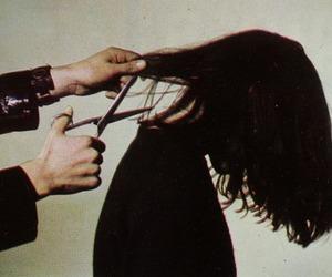 hair, grunge, and cut image