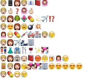 tfios, emoji, and the fault in our stars image
