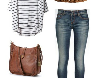 jeans, outfit, and pretty image