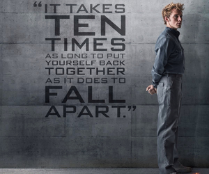 mockingjay, the hunger games, and finnick odair image