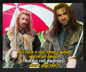 behind the scenes, dwarves, and funny image