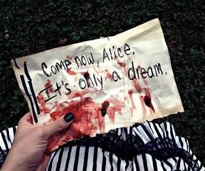 alice, alice in wonderland, and Dream image