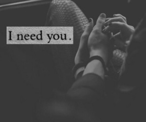 need and love image