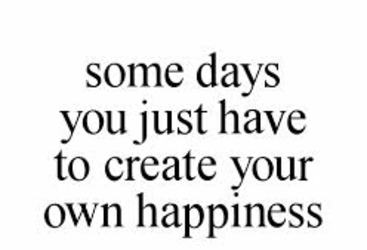 happiness, create, and quote image
