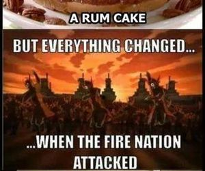 avatar, burnt, and cake image