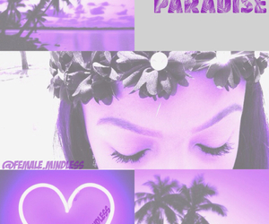 babydoll, paradise, and purple image