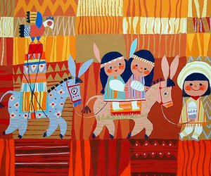 colourful, illustration, and mary blair image