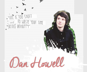 danisnotonfire, dan howell, and inspirational image