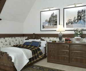 contemporary art, bedroom., and background color image