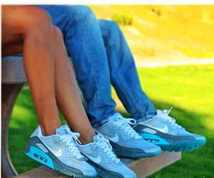 nike, airmax, and couple.love image