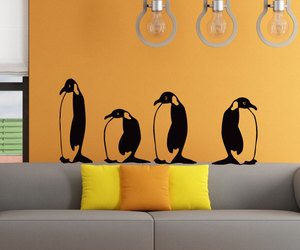 animal, home decor, and penguin image