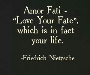 love, quote, and fate image