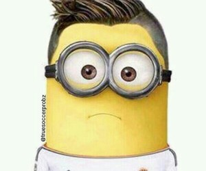 minion, fußball, and spieler image