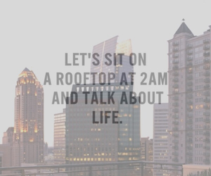 night and rooftop image