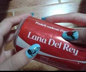 lana del rey, grunge, and coca cola image