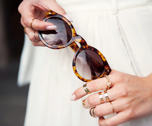 fashion, style, and sunglasses image