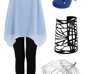 accessories, black, and blue image