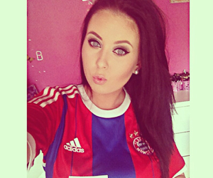 football, makeup, and fc bayern münchen image