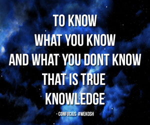 know, knowledge, and life image