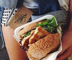comida, hamburguesas, and Rico image