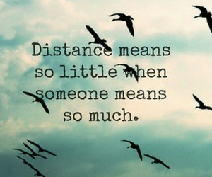 far away, long distance, and miss you image