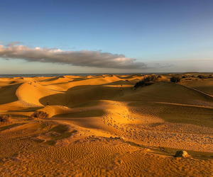 desert and dunes of gran canaria image