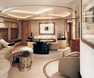 luxury, house, and yacht image