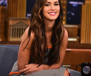 megan fox and smile image
