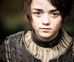 arya stark, game of thrones, and got image