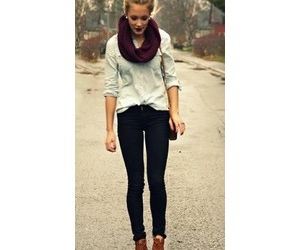 outfit, winter, and autumn image