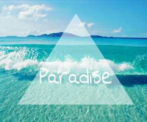 beach, ♥, and paradise image