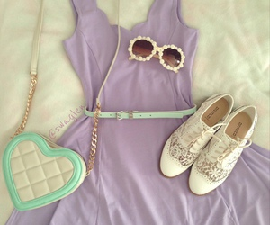heart, fashion, and girl image