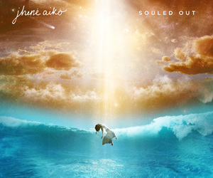 jhene aiko, souled out, and album image