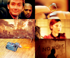 doctor who, k-9, and Mickey Smith image