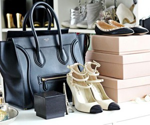 shoes, bag, and fashion image