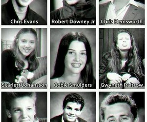 young, cute, and avengers cast image