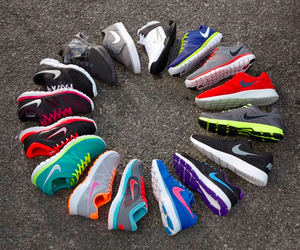 fitness, shoes, and sneakers image