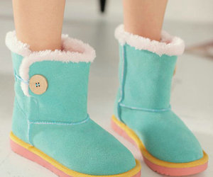 boots, cute, and fashion image