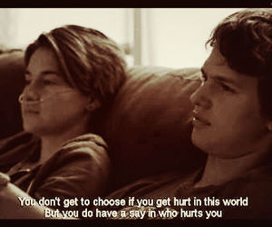 tfios, the fault in our stars, and hurt image