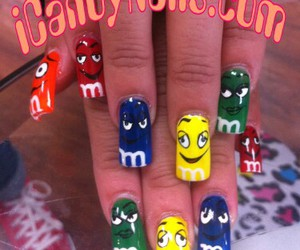 candy, nail art, and colorful image