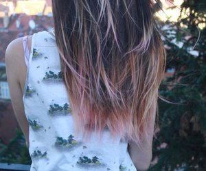 hair and ombre hair image