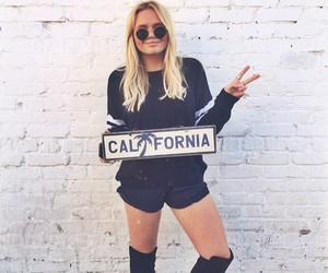 california, girl, and blonde image