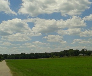 arkansas, clouds, and beautiful day image