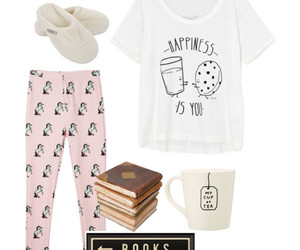 books, pink, and mmm... image