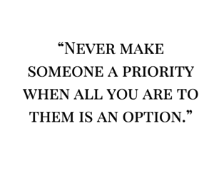 quote, option, and priority image