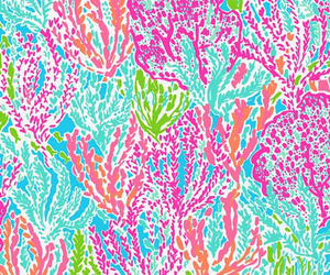 girly, pattern, and lilly pulitzer image
